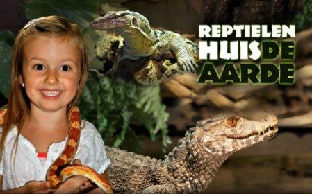 Reptielenhuis De Aarde in Breda met korting