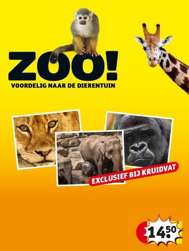 korting dierentuin met kruidvat